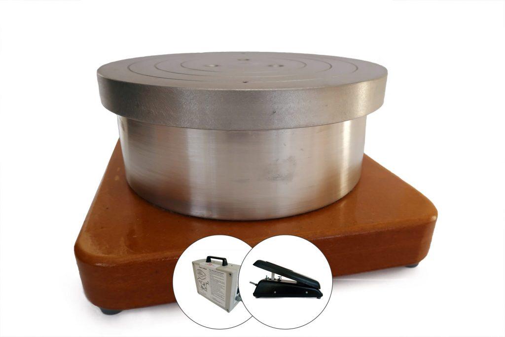 Compact pottery wheel
